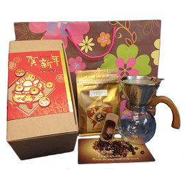 【原森咖啡】2017新春開運 咖啡 組-富貴花開