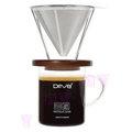 104網購) Driver 輕鬆不鏽鋼濾杯組 DR-FT115-GC 咖啡濾器/手沖壺/免用濾紙