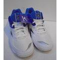 [陽光樂活=] 美津濃MIZUNO WAVE TWISTER 4 排球鞋V1GA157028 (藍x白)