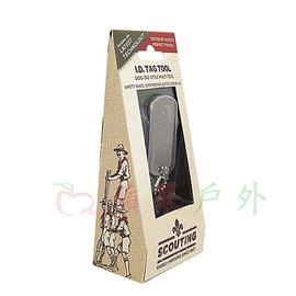 ~~蘋果戶外~~True Utility SC232 Scouting TagTool 5合1鐵牌鑰匙圈工具組 開瓶器 童軍系列
