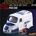 《軒恩株式會社》星際大戰 夢幻車 SC-03 R2-D2 合金車 模型車 TOMY TOMICA 多美小汽車 831327