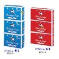 【JPGO日本購】日本製 COW牛乳石鹼 牛乳香皂 肥皂 135g (100g) x3入~ 藍盒 ( 紅盒 )  #034 #338