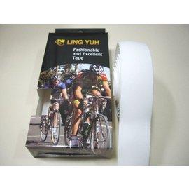 LING YUH跑車車手把帶  EVA輕量化 全白色 精美盒裝《意生自行車》