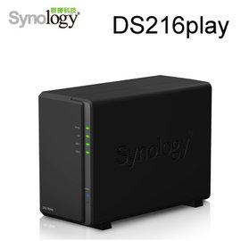 【強越電腦】Synology 群暉科技 DS216play 2Bay 網路儲存伺服器