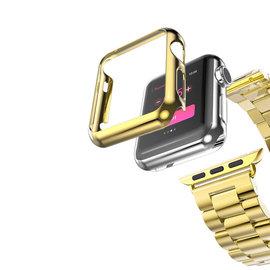 【愛瘋潮】HOCO Apple Watch  38mm  42mm  守護者電鍍殼 單售錶
