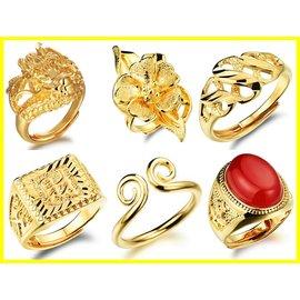 ~316小舖~~ 26款奈米電鍍18K金戒指~單件價 送禮 新郎戒指 新娘戒指 結婚戒指 男款戒指 女款戒指尾戒~