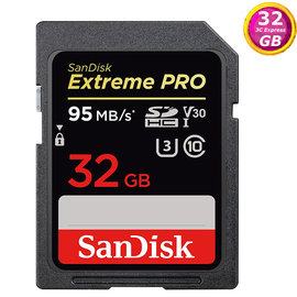 SanDisk 32GB 32G SDHC【95MB s】Extreme Pro SD S