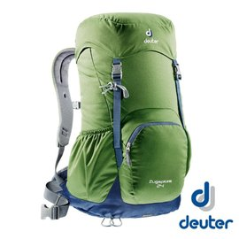 【德國 deuter】 ZUGSPITZE 網架直立式透氣背包24L-綠/ 灰 登山 健行 旅遊 3430116