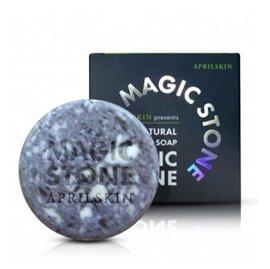 韓國 APRILSKIN-MAGIC STONE天然魔法石潔顏皂100g(夜用)