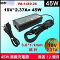 Acer 45W 細針 變壓器原廠 Swift5 SF514-51 SF514-52 SF514-52T SF515 Swift7 SD713-51 Aspire R4-471t R13 R7-371t R7...