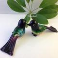單只價格水晶玻璃工藝品-琉璃擺件-鳥家居飾品-純手工制作