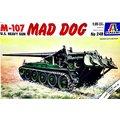 義大利ITALERI U.S. HEAVY GUN M-107 MAD DOG 自走砲戰車