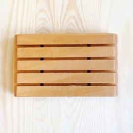 ~囡囡木雜貨~木製品 | 木製皂盒 皂盤 皂架 | 橫條圓角款