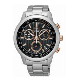 SEIKO CS線條時尚計時腕錶 / 8T68-00A0P/ SSB215P1