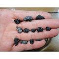 §能量礦石§ IRGHIZITE TEKTITE 哈薩克隕石 共9顆 5.08g編號107