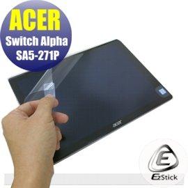 【Ezstick】ACER Switch ALPHA 12 SA5-271 P 靜電式平板LCD液晶螢幕貼(可選鏡面或霧面)