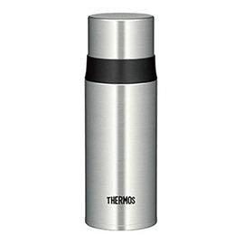 eLife 【THERMOS 膳魔師】不鏽鋼真空保溫瓶0.35L(FFM-350-SBK)