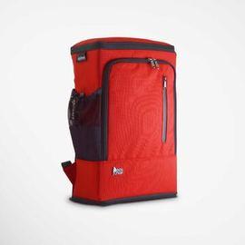 PackChair - PackChair椅子包 電腦包 自助旅行包 登機包 盾牌包 防身包 書包 後背包 排隊逛街 紅色有胸扣版