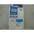 ☆EPSON 188 T188C T188250 原廠藍色墨水匣WF-3621/WF-7611/WF-7111