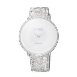 CITIZEN Eco-Drive 瓏月系列女仕鈦優雅腕錶/ EG7000-01A