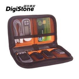 ~免 ~DigiStone 6格裝 3C多 收納包~黑色X1P~ 尼龍防水布 網布,輕巧耐