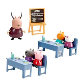 粉紅豬小妹教室組 Peppa Pig 兒童玩具 YOYO TV 兒童卡通 粉紅豬小妹 伯寶行 PE05033