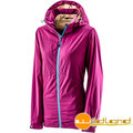 WILDLAND荒野 女款天鵝絨防風保暖外套0A22907-58葡萄紫M、XL號