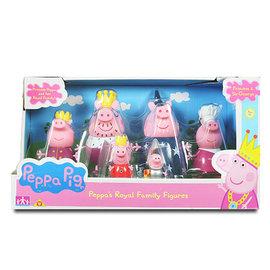粉紅豬小妹 皇家系列 家庭公仔組 佩佩豬 喬治 CHARACTERS 粉紅小豬 Princess Peppa Pig