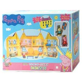 Peppa Pig 粉紅豬小妹 皇家系列 佩佩皇宮 伯寶行 豬小妺 粉紅小豬 附佩佩豬及小免子公仔 05873