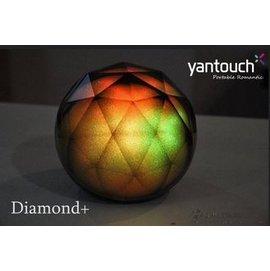 原廠正貨 Diamond+ 鑽石藍芽喇叭 LED情境燈 氣氛燈 夜燈 造型燈 USB 檯燈 禮物 Yantouch