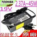 TOSHIBA 19V,2.37A,45W 充電器(原廠)-東芝 NB200,NB205,NB250,NB255,NB300,NB305,PA3822U-1ACA,PA-1450-81,Z30-A,Z..