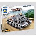 開智積木軍事系列/KY82009/德軍裝甲部隊/二戰經典坦克/PZKPFW-II型坦克868PCS
