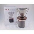 《愛鴨咖啡》Driver DR-FT115-GC 不銹鋼 免濾紙 濾杯 組合 400ml