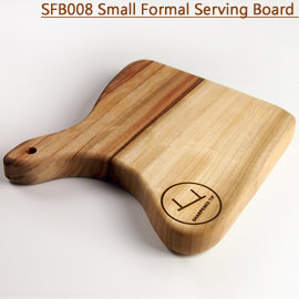 Small Formal Serving Board SFB008方型 樟木板 砧板 食物板 麵包板 托盤 展示板