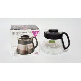 ~愛鴨咖啡~HARIO XVD~36B XVD36B 耐熱玻璃壺 咖啡承接壺 泡茶壺 360cc
