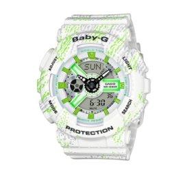 CASIO BABY-G/ 潮流尖端雙顯運動腕錶/ BA-110TX-7ADR