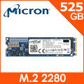 美光Micron Crucial MX300 525GB ( M.2 Type 2280DS ) SSD