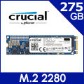 美光Micron Crucial MX300 275GB ( M.2 Type 2280DS ) SSD