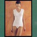 【西班牙PRINCESA】(4790)女仕雙層透氣棉_無縫寬版背心襯衣(M)