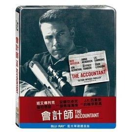 BD藍光:會計師 單碟鐵盒版 (Blu-ray)The Accountant Steelbook