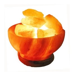 【來自天然】喜馬拉雅聚寶盆鹽晶燈(6吋)