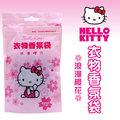 Hello Kitty 衣物香氛袋 (浪漫櫻花) (10gX3入)X6袋