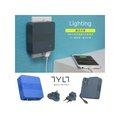TYLT ENERGI 6K 便攜可充式鋰離子6000mAh行動電源 充電器 2.4A同時充兩個裝置 -專業旅行組(Light