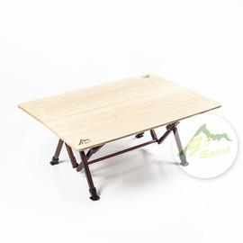 GoSport 70x100大竹板桌 高40/ 60cm兩段可調 92489 [阿爾卑斯戶外/ 露營] 土城