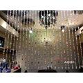 [訂製品依尺寸報價]潔西卡水晶 A001 藏旗五行彩色奧地利水晶簾 台製手工水晶珠簾