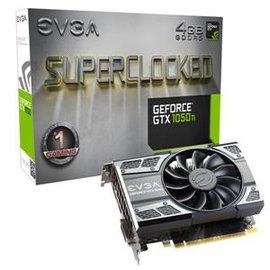 【酷購Cutego】艾維克EVGA GTX1050 Ti 4GB SC GAMING ACX2.0 GDDR5 PCI-E圖形卡 ,  免運費+6期0利率
