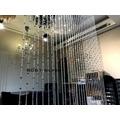 潔西卡水晶 B061-silver 奧地利切面銀檳水晶簾 台製手工水晶珠簾