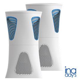 【inaday`s】捕蚊達人 光觸媒捕蚊燈 GR-M003 白色 (兩入組) 搭贈裸裝兩入誘蚊劑