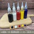 12色 3入 組合價 30ml 高濃度 邊油 (平光-霧面-邊油) 消光邊油/塗邊劑/皮雕/皮革/拼布/手創/DIY