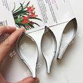CS0303_006 牡丹葉不鏽鋼切模1組3入、菊花葉不�袗�切模、葉模